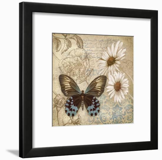 Butterfly Garden I Framed Art Print by Conrad Knutsen | Art.com