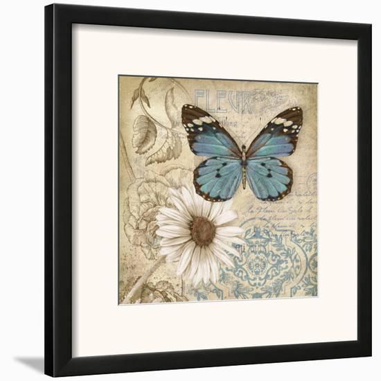 Butterfly Garden II Framed Art Print by Conrad Knutsen | Art.com