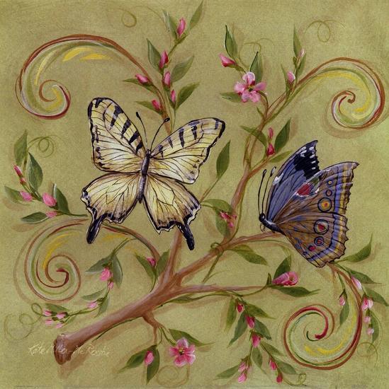Butterfly Green-Kate McRostie-Art Print