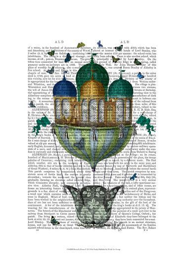 Butterfly House-Fab Funky-Art Print