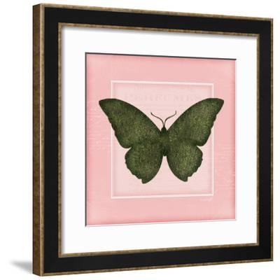 Butterfly II - Pink-Jennifer Pugh-Framed Art Print