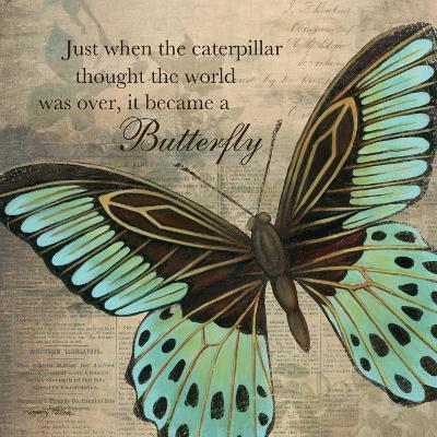 Butterfly II-Kimberly Poloson-Art Print