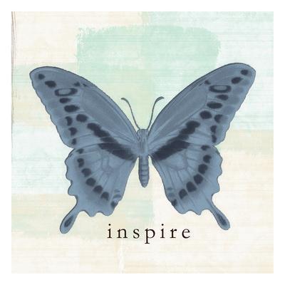 Butterfly Inspire-Taylor Greene-Art Print