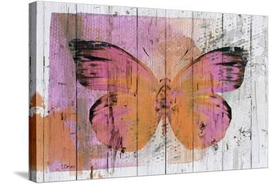 Butterfly Kiss--Stretched Canvas Print