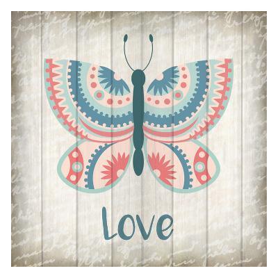 Butterfly Love-Kimberly Allen-Art Print