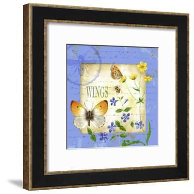 Butterfly Meadow I-Jane Maday-Framed Art Print