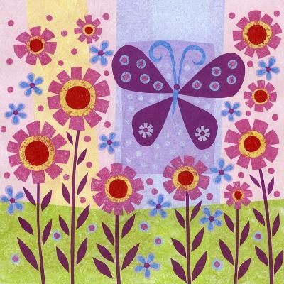 Butterfly Meadow-Kim Conway-Art Print