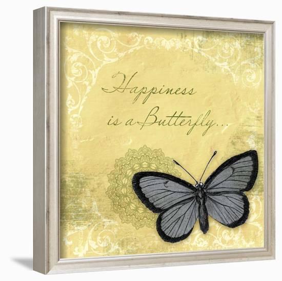 Butterfly Notes XI--Framed Art Print