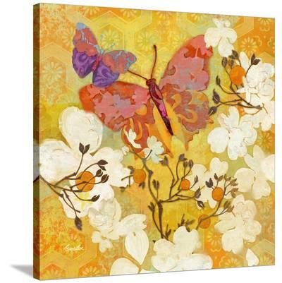 Butterfly Orange--Stretched Canvas Print