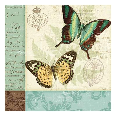 Butterfly Patchwork I-Pela Design-Premium Giclee Print