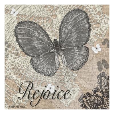 Butterfly Rejoice-Lorraine Rossi-Art Print