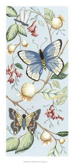 Butterfly Sky I-Megan Meagher-Giclee Print