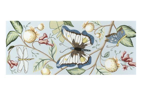 Butterfly Sky II-Megan Meagher-Art Print
