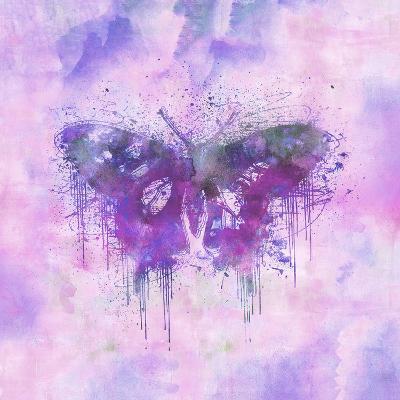 Butterfly - Square 3-Lebens Art-Art Print