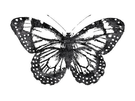 Butterfly Stamp Giclee Print By Joni Whyte