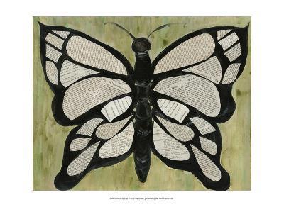 Butterfly Text-Lisa Choate-Art Print