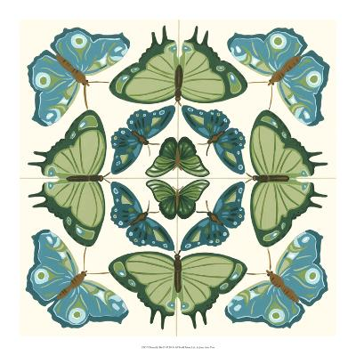 Butterfly Tile IV-Erica J^ Vess-Giclee Print
