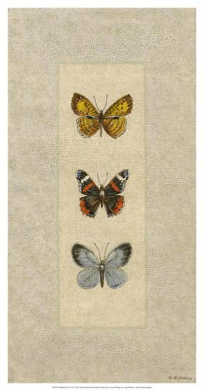 Butterfly Trio II-Wendy Russell-Giclee Print