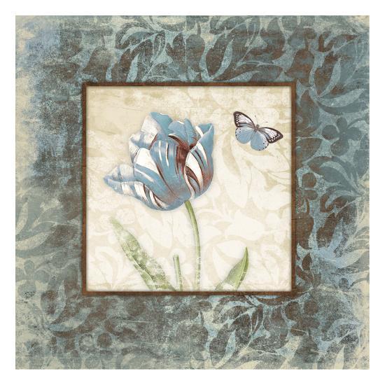 Butterfly Tulip 2-Jace Grey-Art Print