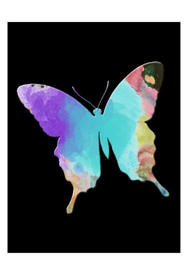 Butterfly Watercolor-Sheldon Lewis-Art Print