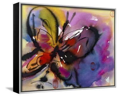 Butterfly-Diana Ong-Framed Canvas Print