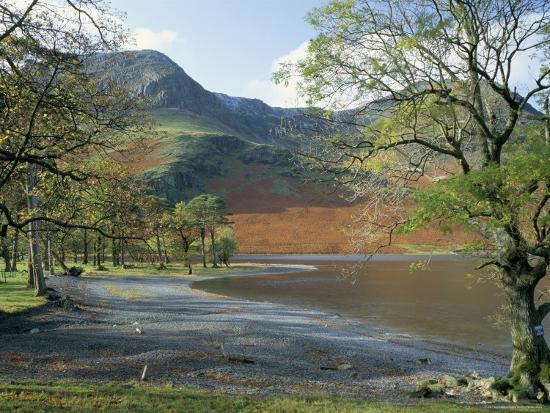 Buttermere, Lake District National Park, Cumbria, England, United Kingdom-Roy Rainford-Photographic Print
