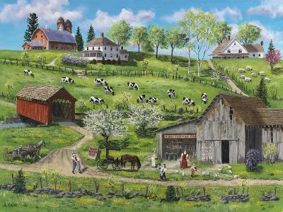 Buttermilk Farm-Bob Fair-Giclee Print