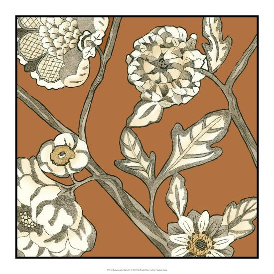 Butterscotch Chintz IV-Chariklia Zarris-Art Print