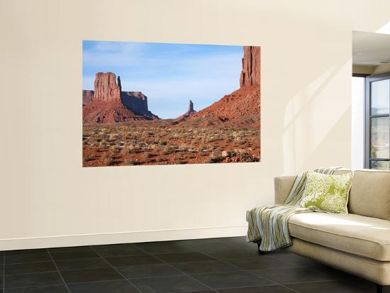 Buttes and Mesas of Monument Valley-Feargus Cooney-Wall Mural