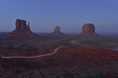 Buttes at Monument Valley Tribal Park-Raul Touzon-Photographic Print