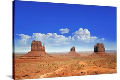 Buttes of Monument Valley Utah--Stretched Canvas Print