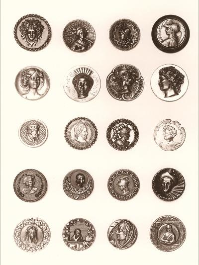 Button Collection--Art Print