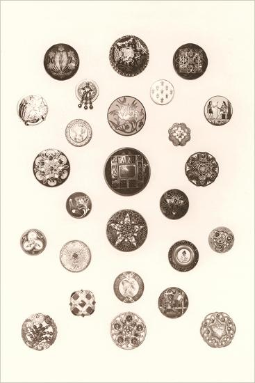 Button Collection--Art Print