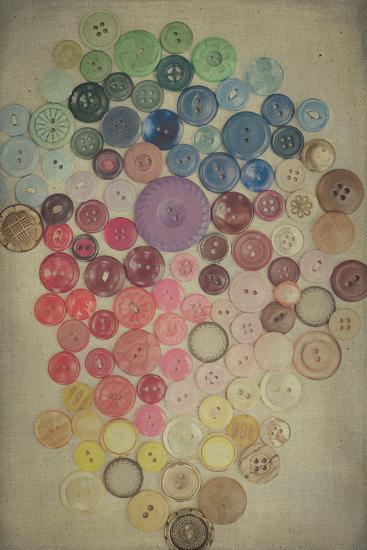 Button Still Life-Elizabeth Urqurt-Photographic Print