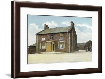 Buxton, Cat and Fiddle--Framed Photographic Print