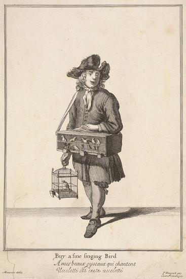 Buy a Fine Singing Bird, Cries of London-Pierce Tempest-Giclee Print