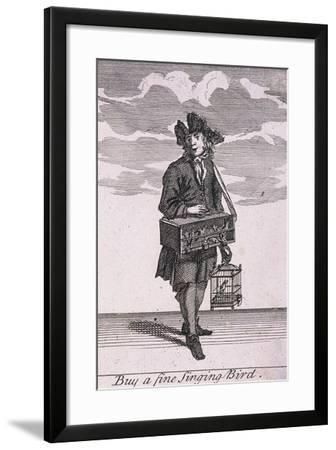 Buy a Fine Singing Bird, Cries of London-Marcellus Laroon-Framed Giclee Print