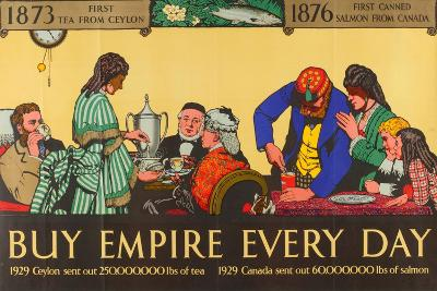 Buy Empire, from the Series 'Milestones of Empire Trade'-Richard Tennant Cooper-Giclee Print