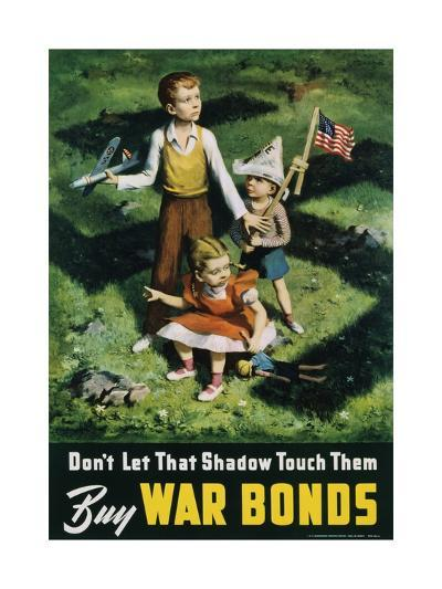 Buy War Bonds Poster-Lawrence Beall Smith-Giclee Print