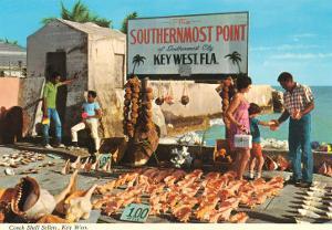 Buying Conch Shells in Key West