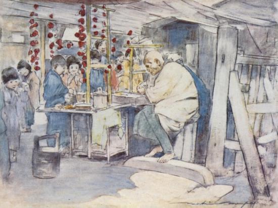 Buying Sweets-Mortimer Ludington Menpes-Giclee Print