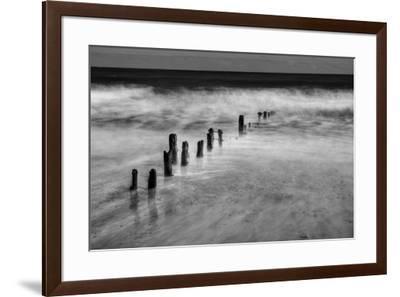 BW Seascape-Tom Quartermaine-Framed Giclee Print