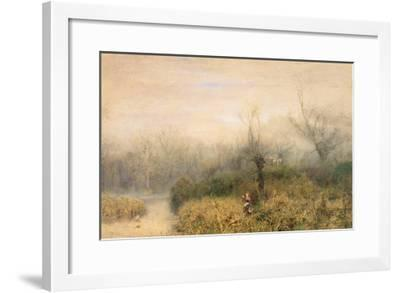By a Lake, 1882-John William North-Framed Giclee Print