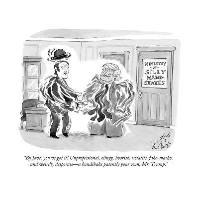 """By Jove, you've got it! Unprofessional, clingy, boorish, volatile, fake-m? - Cartoon-Tom Toro-Premium Giclee Print"