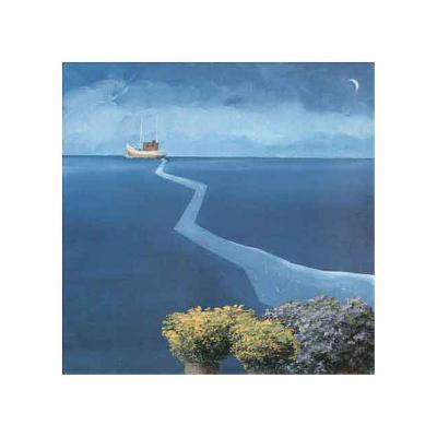 By Land and By Sea IV-Marko Viridis-Art Print