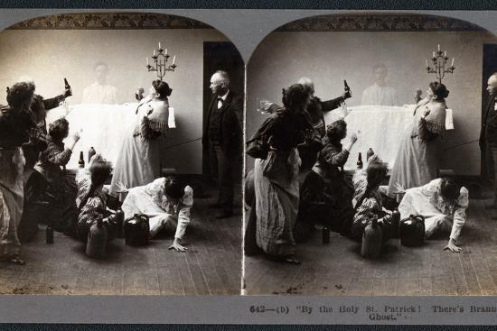 """""""By the Holy St. Patrick! There's Brannigan's Ghost""""--Photographic Print"""