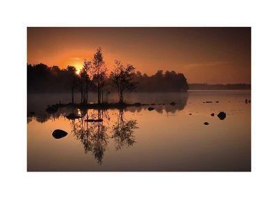 By the Lake-J?rgen Sch?n-Art Print