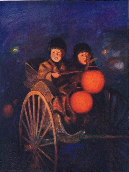 'By the Light of the Lanterns', c1887, (1901)-Mortimer L Menpes-Giclee Print