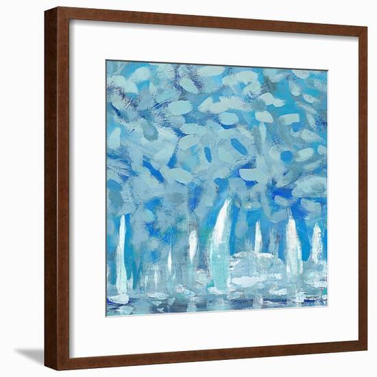 By the Pier II-Kingsley-Framed Premium Giclee Print