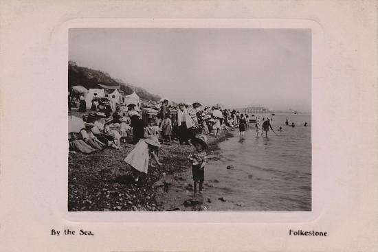 'By the Sea, Folkestone', late 19th-early 20th century-Unknown-Giclee Print